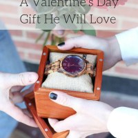 A Valentine's Day Gift He Will Love & GIVEAWAY c/o Jord Wood Watches