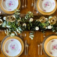 Simple Easter Dinner - Recipes, Shopping Lists, Tablescape Ideas, & Tips for Hosting a Stress Free Holiday