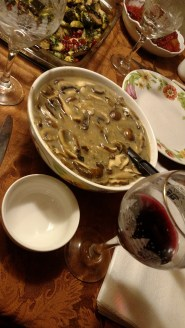 His time with halflings has given our elven ranger a taste for heartier meals like this mushroom soup.