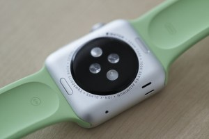 reverse side of Apple Watch