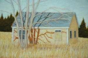Beech Hill Yellow (detail), 2009