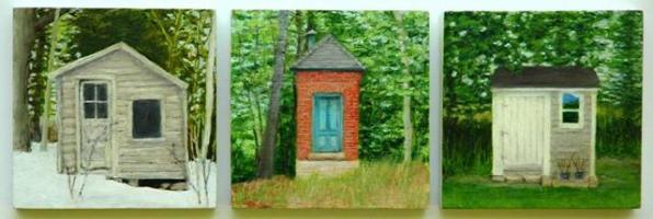 Small House V, VI, and VII, 2008