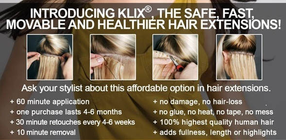 How much do klix hair extensions cost hairsstyles klix reviews hair extension magazine labeau salon dayspa pmusecretfo Choice Image