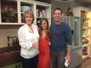 "On Hallmark's ""Home and Family"""