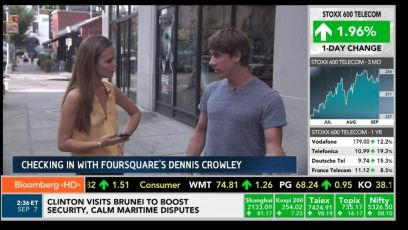 Interviewing Foursquare Founder Dennis Crowley