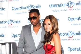 With Jeremih at the Junior Smile Event in NYC