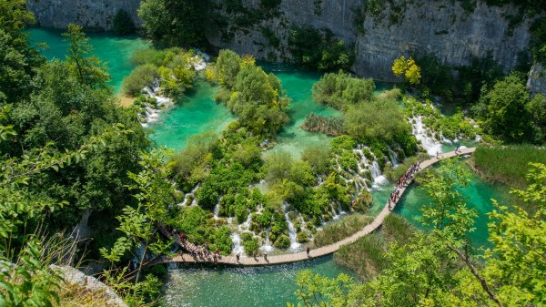 natural wonders of europe - plitvice