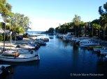 Small boat dock