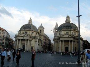 Santa Maria dei Miracoli and Santa Maria di Montesanto