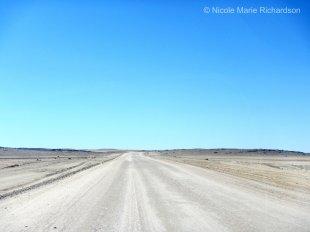 Leaving Swakopmund