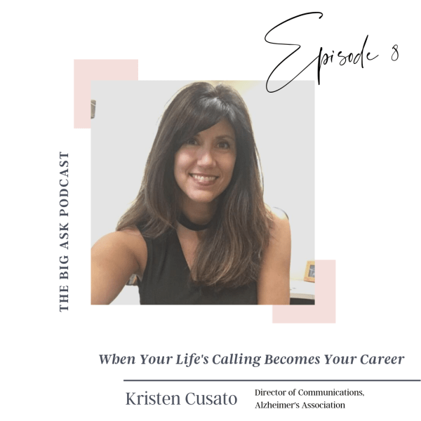 Kristen Cusato Podcast cover image