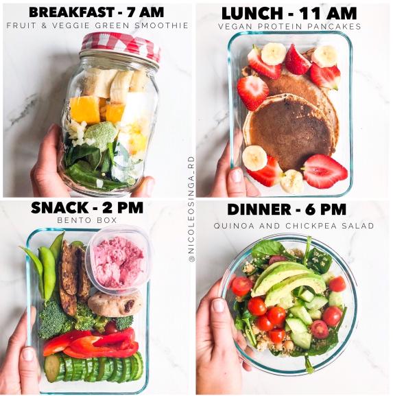 4 Larger Meals