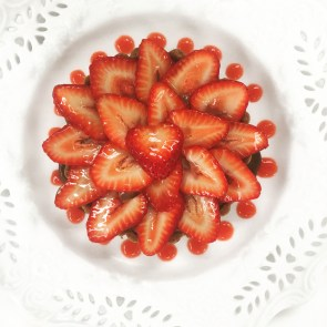 STRAWBERRY & NUTELLA TART