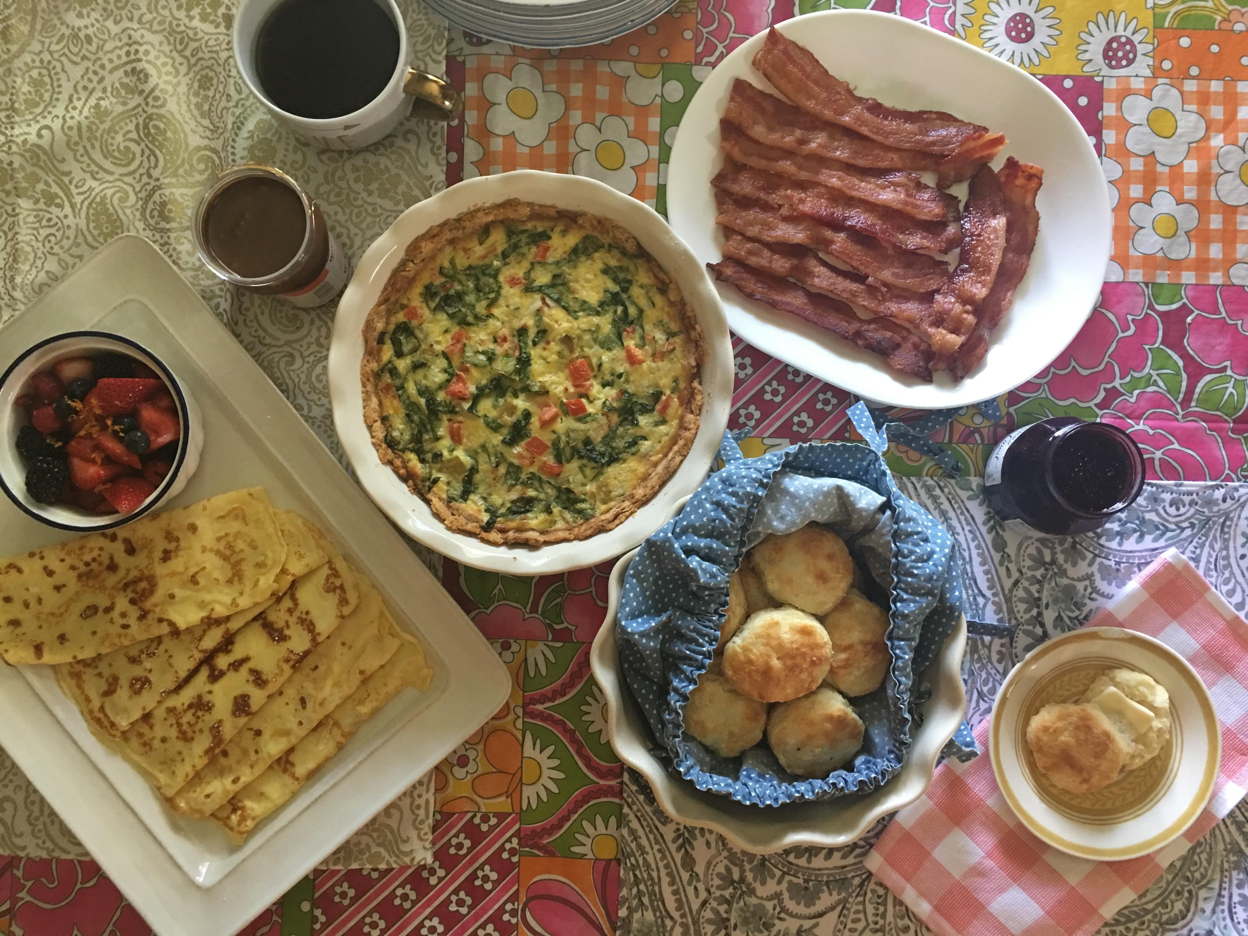 Sunday # 9: Mother's Day Brunch