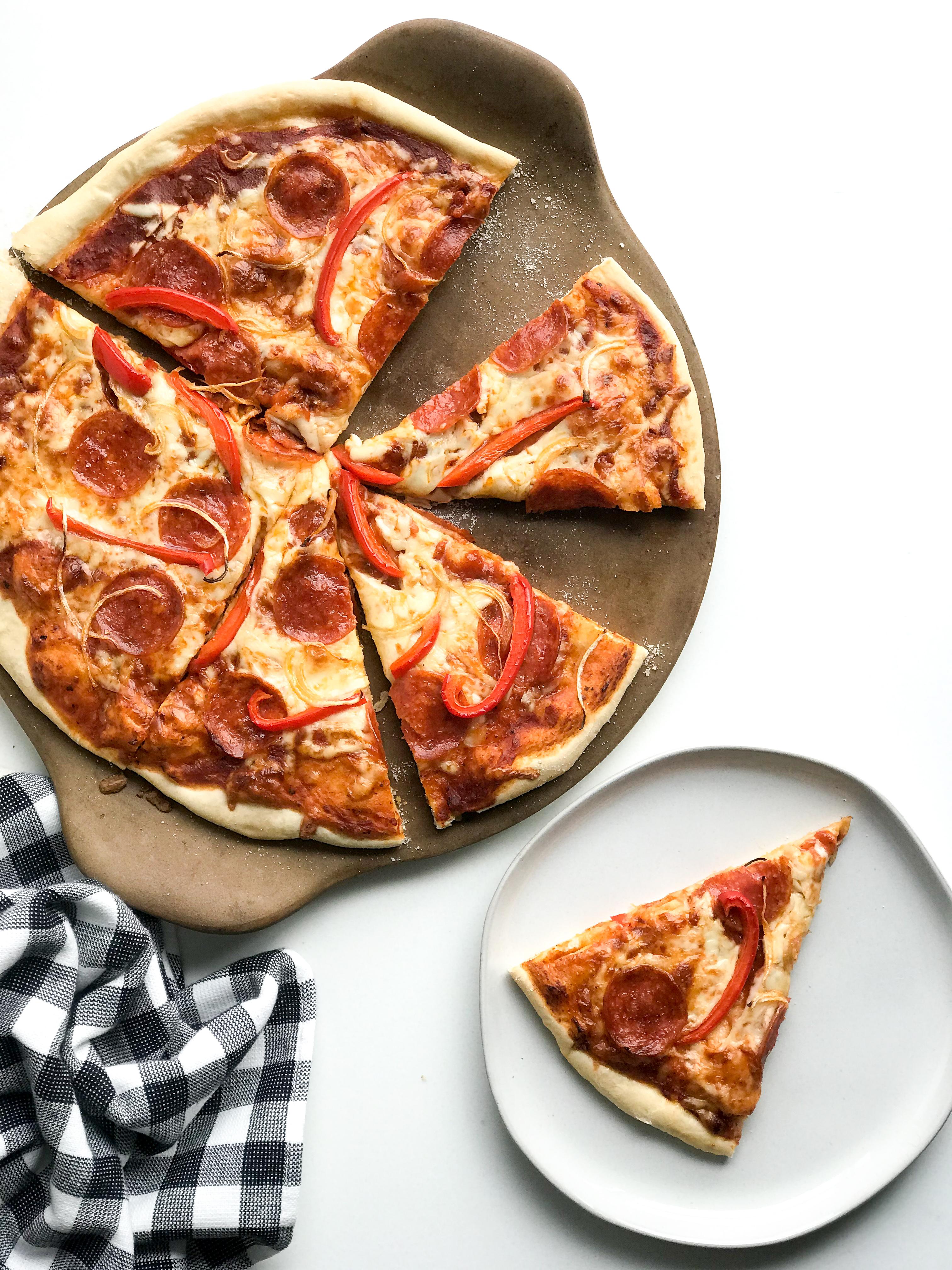 Homemade Classic Pizza Crust