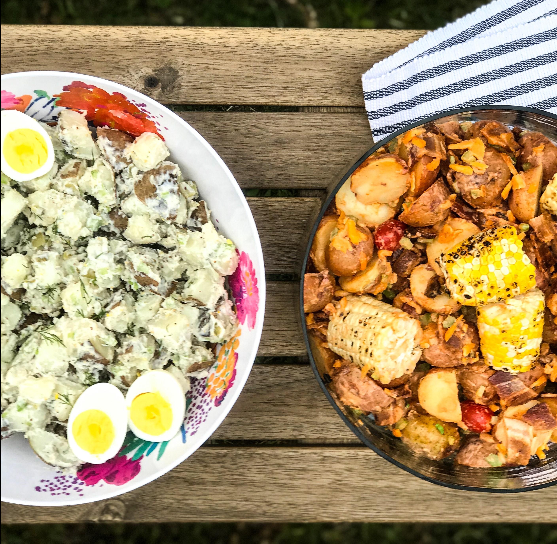 Backyard Potato Salad – 2 Ways