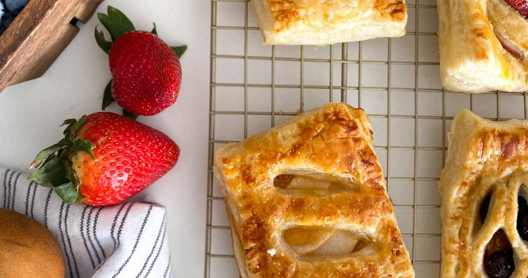 """Puff Pastry """"Pop Tarts"""" (Sweet or Savory)"""