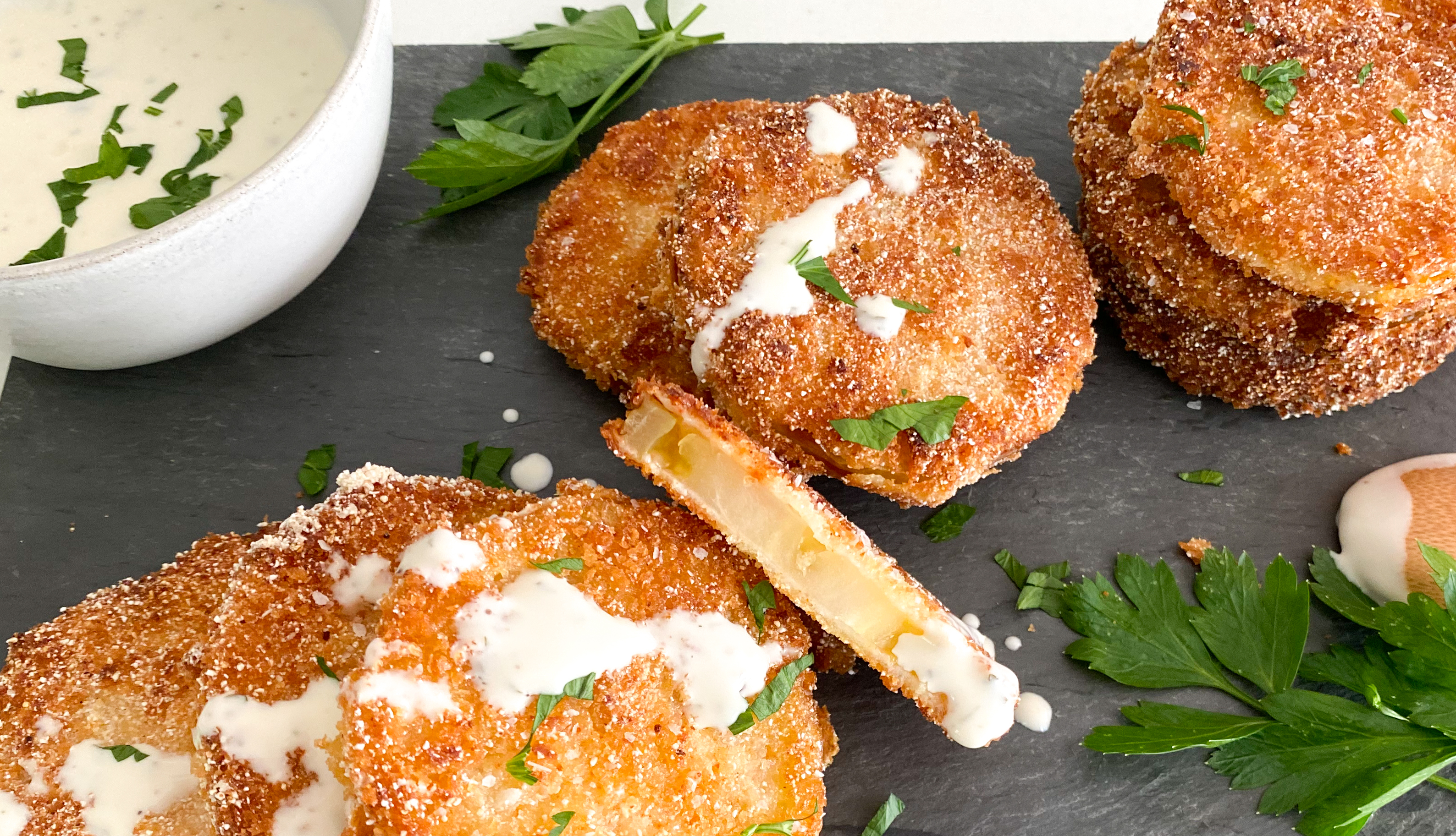 Summertime Fried Green Tomatoes