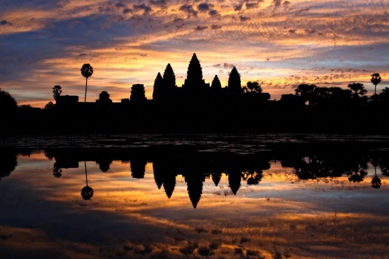Sunrise at Angkor Wat, Cambodia. (© Nicole S. Young — nicolesy.com)