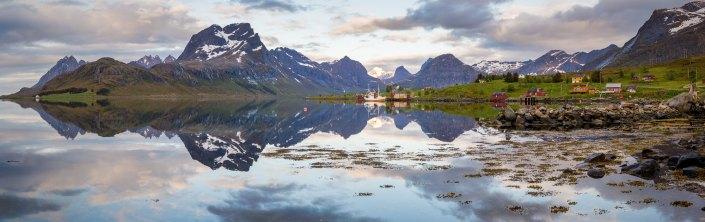 Panorama in Lofoten, Norway
