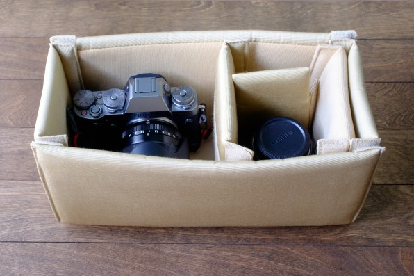 Fuji X-T1 with Fuji 23mm (attached) and 56mm (detached)