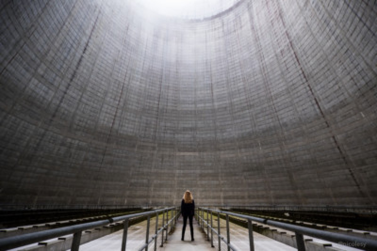 Inside a Nuclear Power Plant (Satsop, WA)