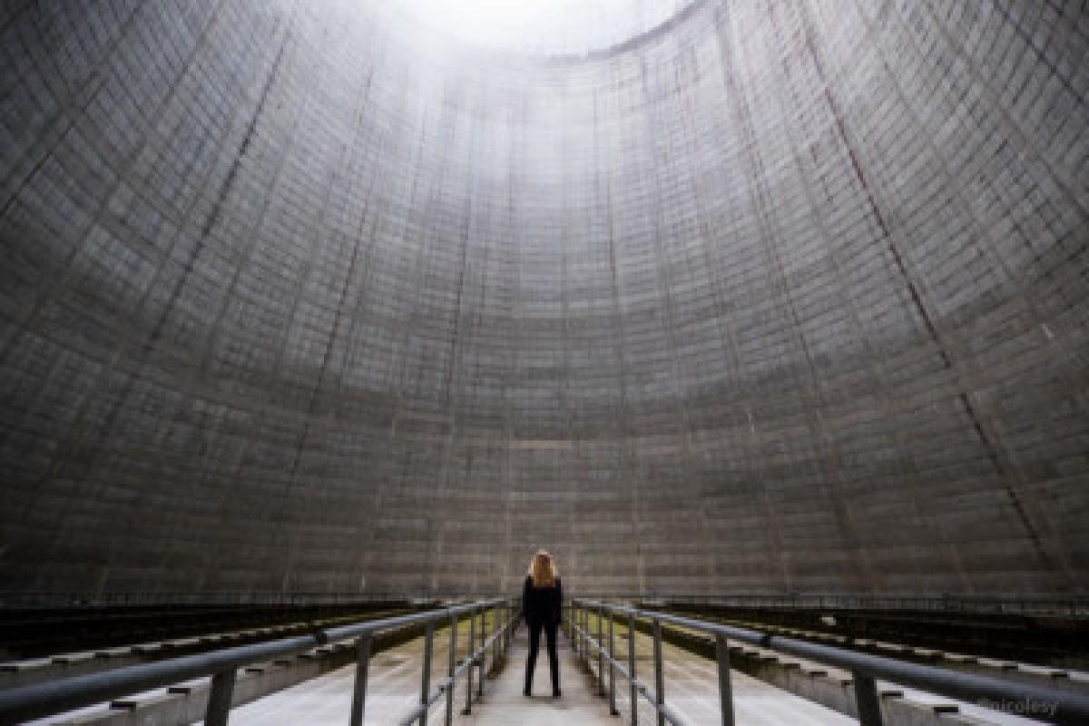 Inside a Nuclear Power Plant (Satsop, WA)