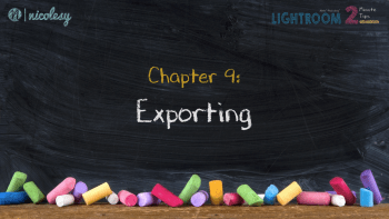 Chapter 9: Exporting