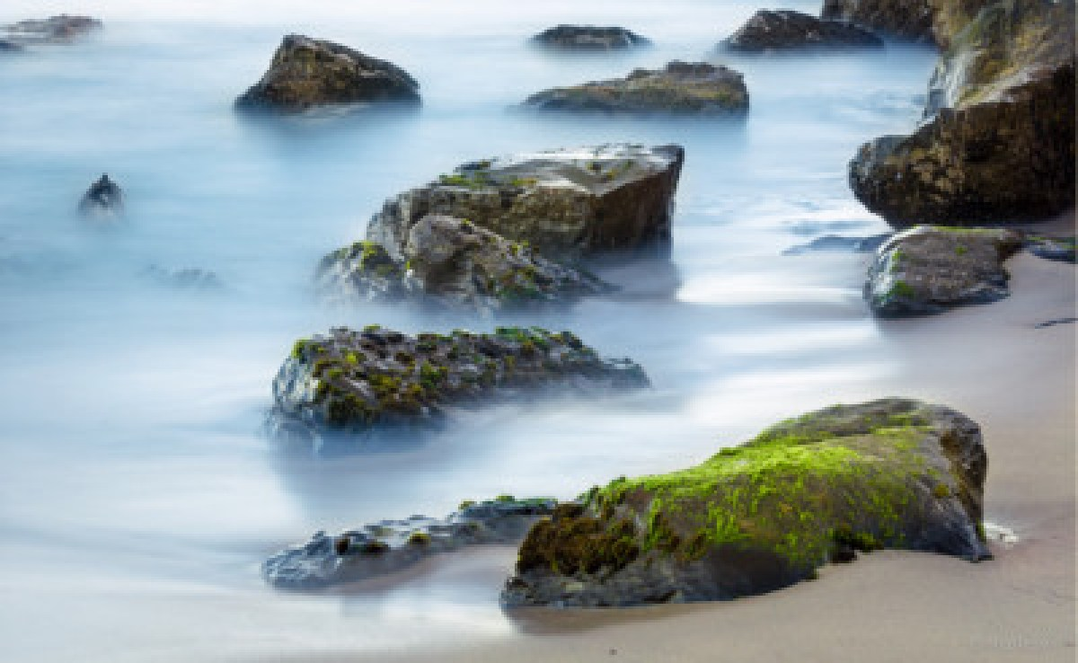 Misty Water — Long exposure water photograph