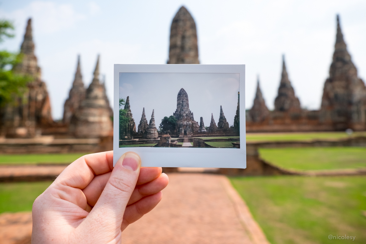 Thai Temple (Fuji Instax Wide Print)
