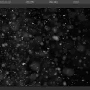Step 3: Locate and select the snow overlay file and add it to your document