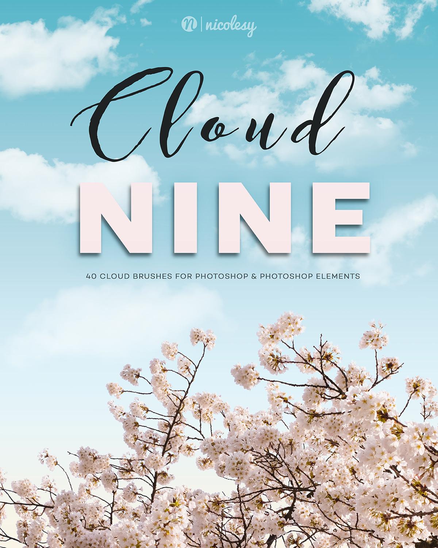 Cloud Nine Photoshop Brushes