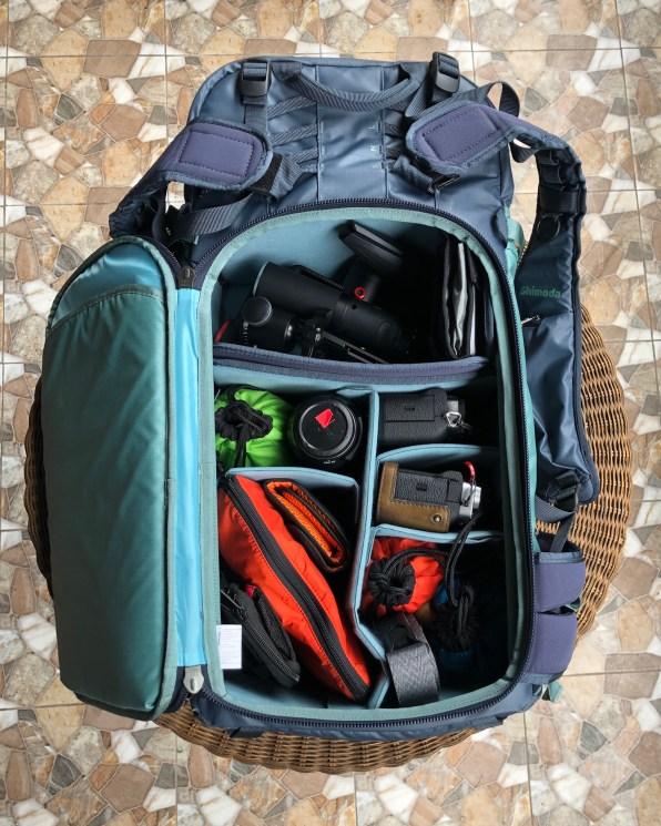 Shimoda Explore 30 camera bag.