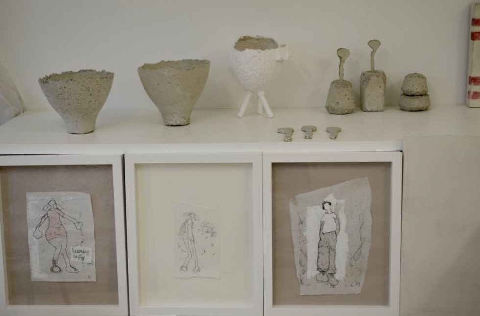 Monotypes and Vases