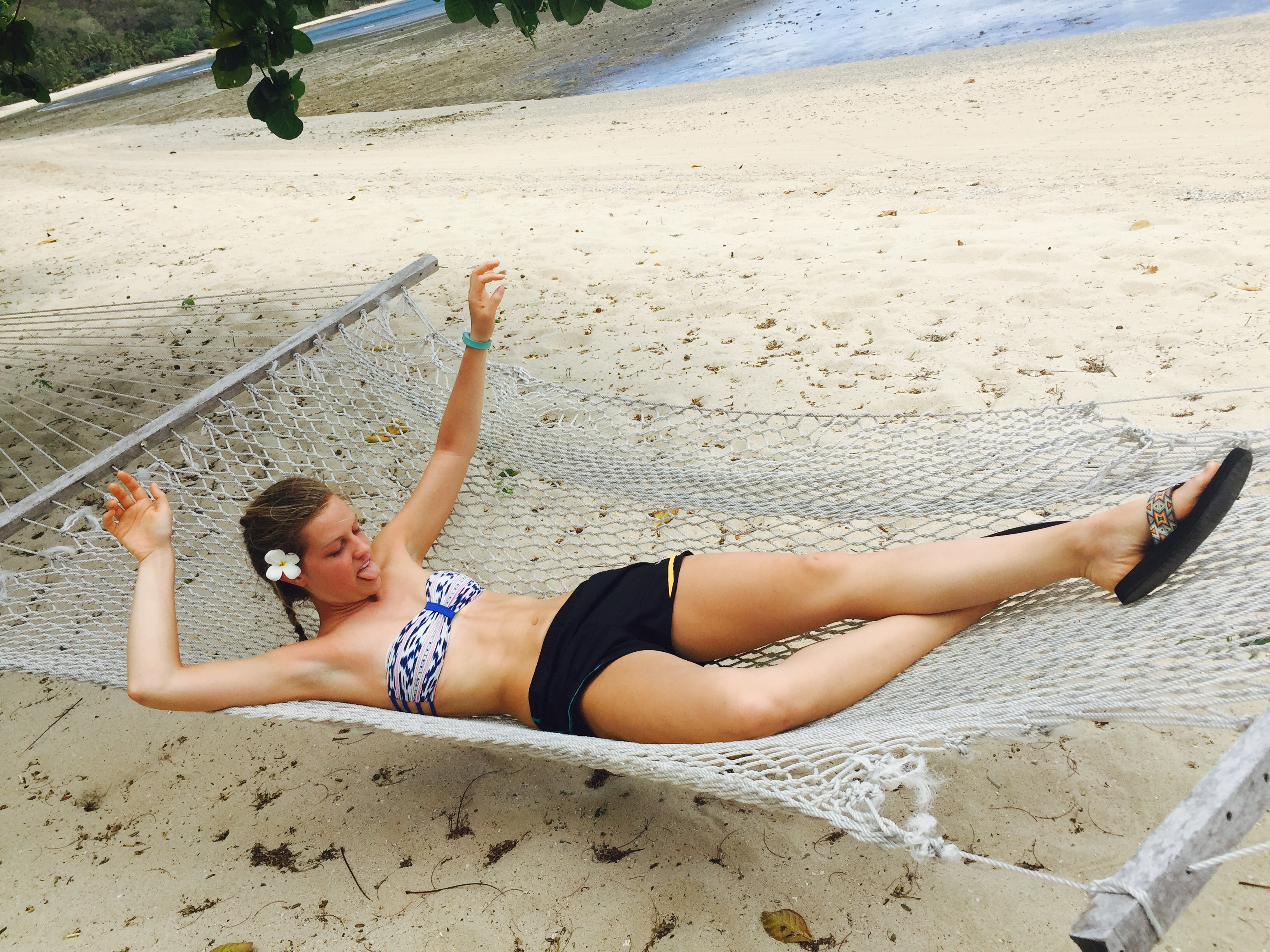 Wait, how do you even get out of a hammock?