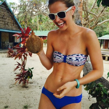 I've never been so excited about a coconut.