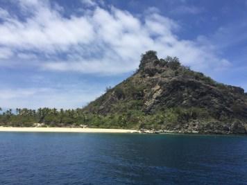 The island where they filmed Castaway