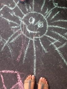 Street art for kids