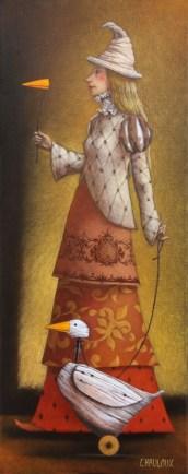 La Dame et l'oie