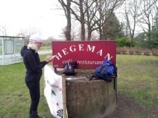 Met de bus naar startpunt bij Cafe Hegeman in Schoonhoven