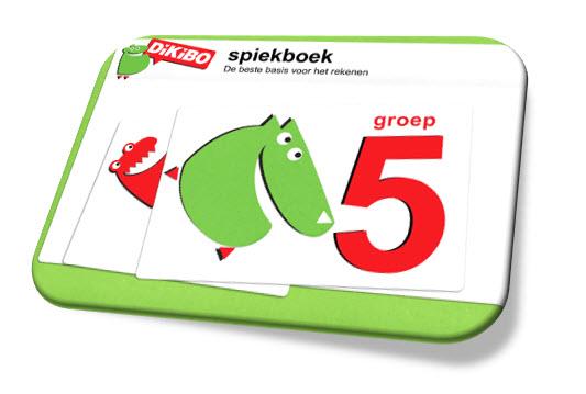 DiKiBO Spiekboekje rekenen groep 5 op gratis uitlegkaarten