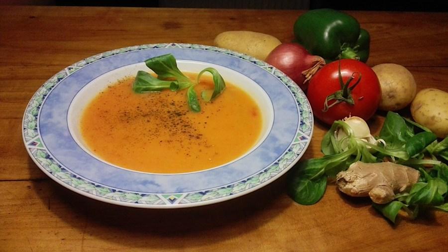 Gezond groentesoep