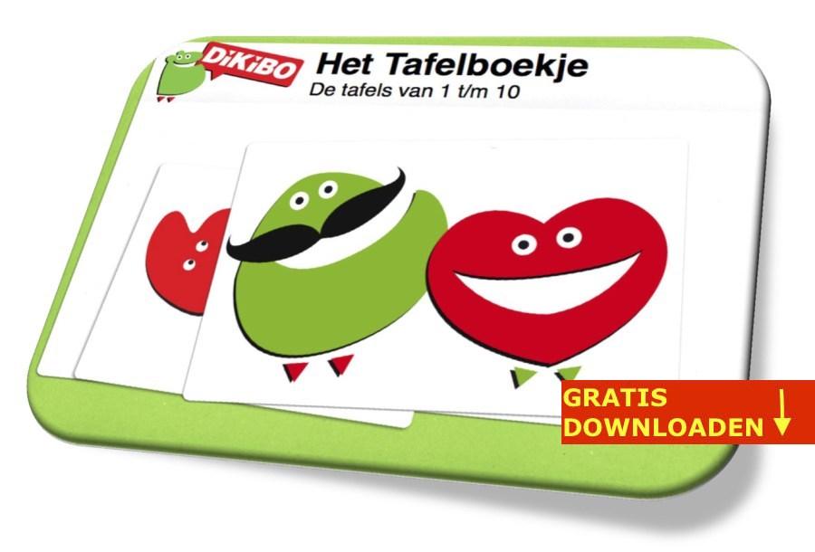 Tafels leren met het DiKiBO Tafelboekje