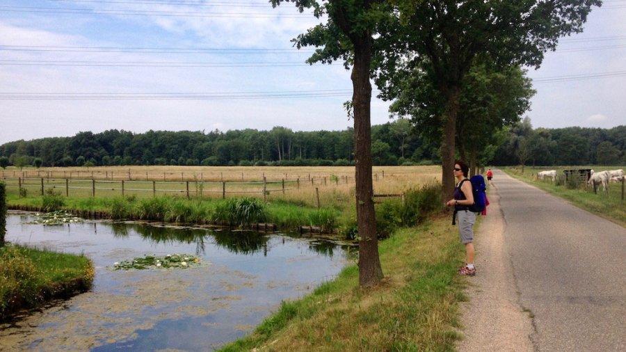 Pieterpad, van Swalmen naar Montfort