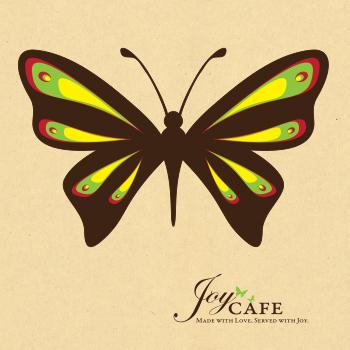Branding Design by Nicole Victory Design. Joy Cafe