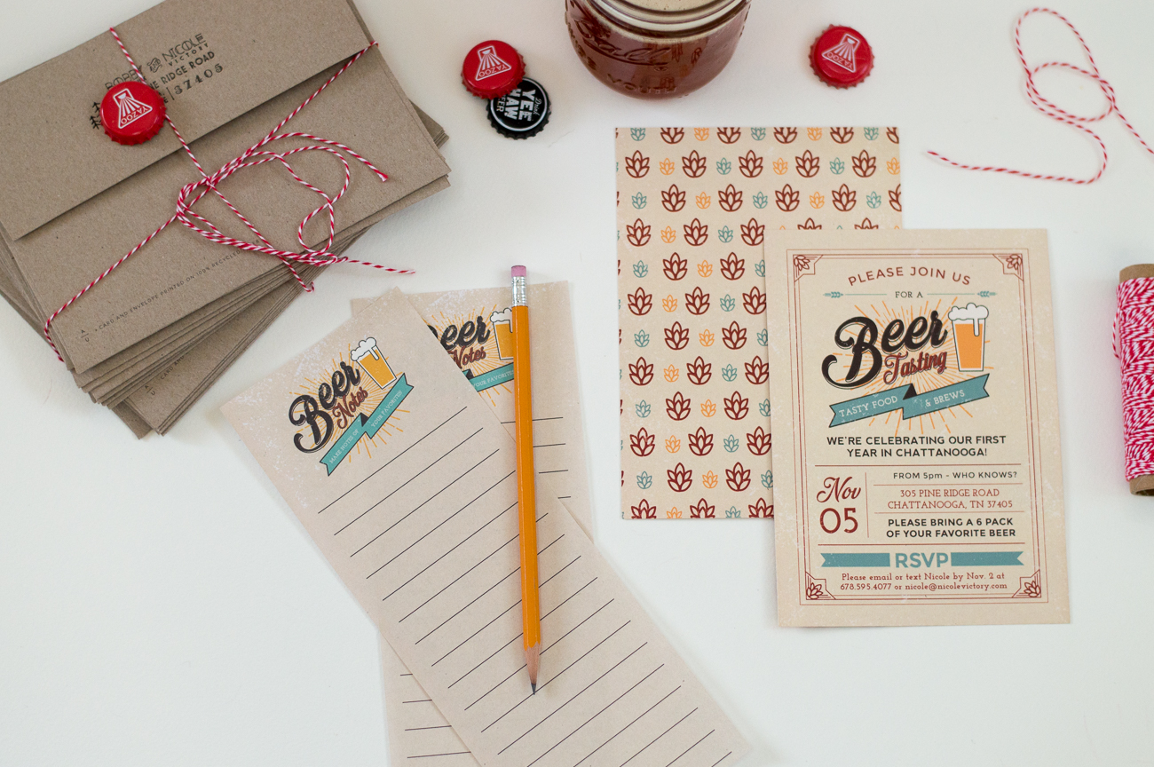 how to start my own invitation printing business%0A Beer Tasting Invitations