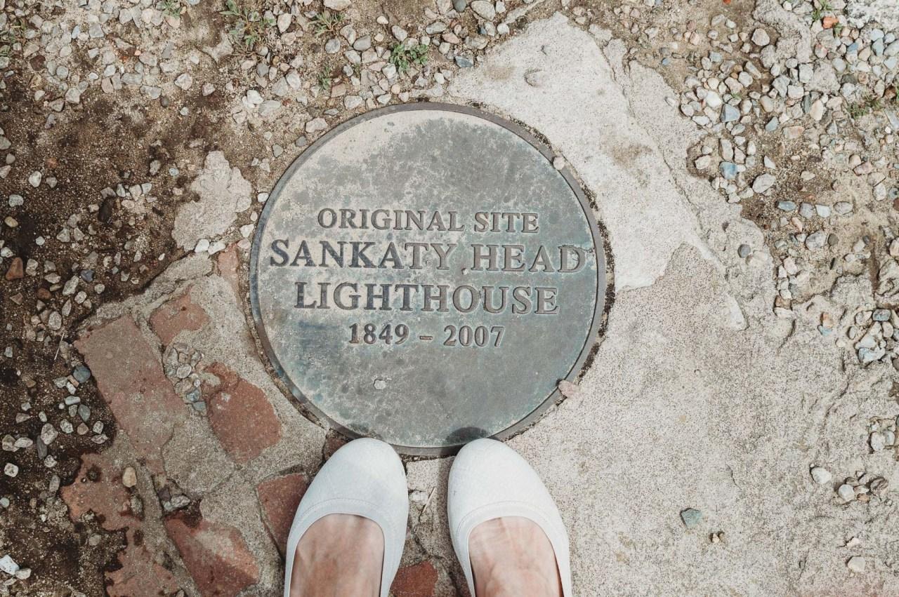 Sankaty Head Lighthouse in Nantucket with Schwinn | Places to bike on Nantucket | Nicole Victory Design