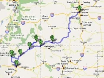 Trip so far!