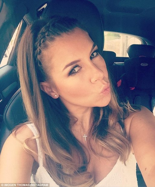 Is Imogen Thomas Ready To Go Into The I'm A Celebrity Jungle??