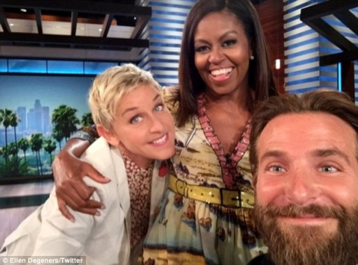 Michelle Obama Takes Over Ellen DeGeneres' Show!